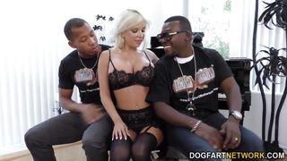 savannah stevens enjoys interracial threesome