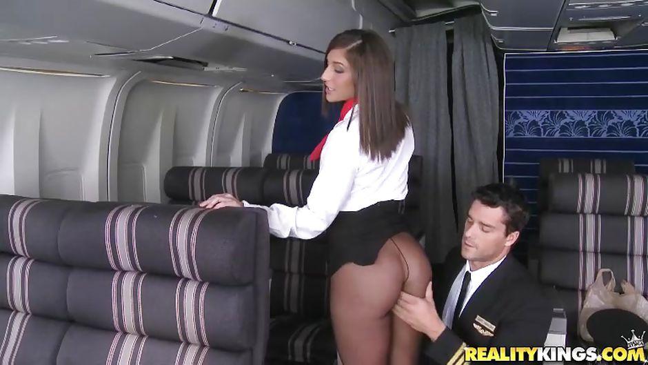 Air plane blowjob