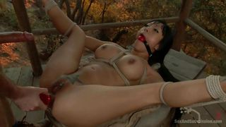 asian beauty gaia gets fucked on the porched