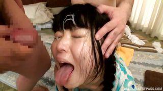"""cum in my mouth"" says japanense babe nagomi"