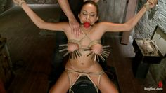ball gagged, punished and pleasured
