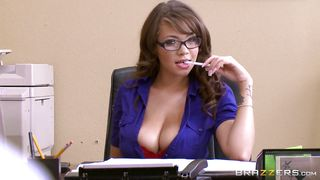 sexy cassidy gets banged at work