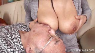 asian slut and my grandpa