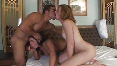 hot shemale and female threesome @ girls who love transsexuals #04