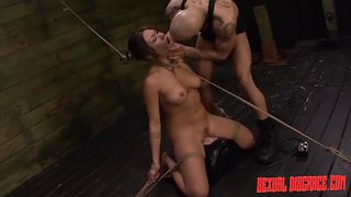 lovely slave gets dominated by horny master