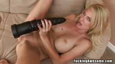 put that big black dildo in her sweet vagina
