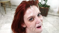 redhead slut sucks me off so good