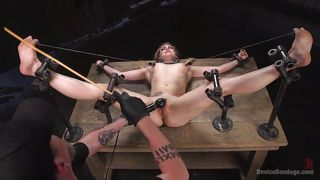 naughty dahlia gets awfully tortured