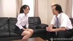 shino sucks the principal's cock
