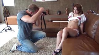 casting romanian redhead amateur teen