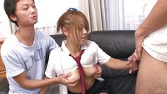 schoolgirl sucks cock for the first time