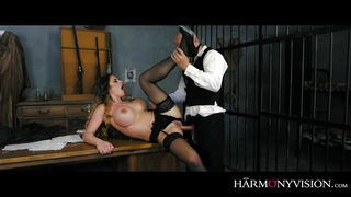 sheriff anal banging the prisoner