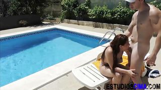 spanish amateur pov outside