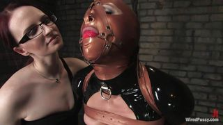 who is under this latex mask?