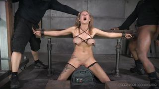 bitch restrained in the basement