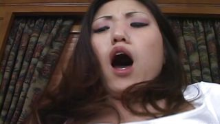 pretty asian brunette ass fucked deeply