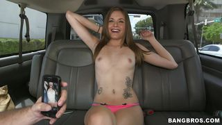 tight pussy chick on the backseat