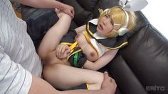 blonde cosplay elf gets fucked