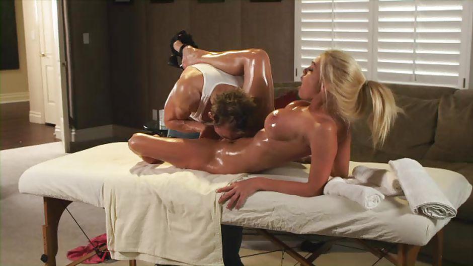 массаж превращается в секс фото