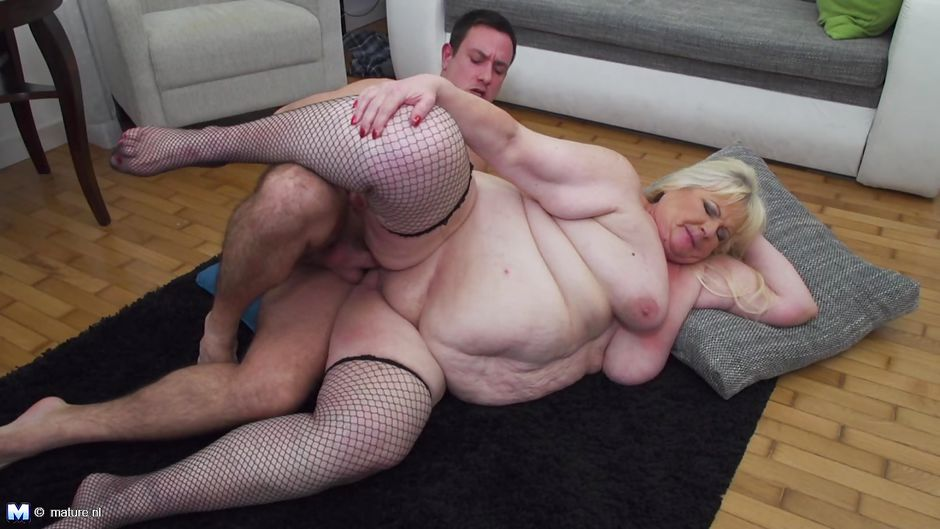 Thanks Mature big tits fat belly was and