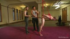 naughty zane gets tied up