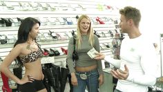 blonde babe shows tits in public @ season 3, ep. 4