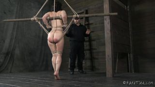 bitch tortured while severely bonded