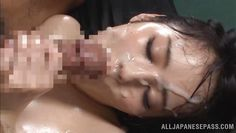 oiled, fucked and facialized