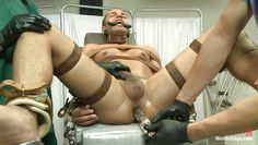gay strapped and anally exploited