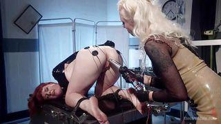 bonded lesbian slave gets horny