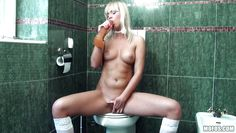 getting naughty in the restroom