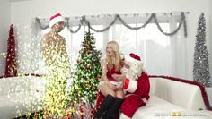 lustful teen gets an xxx sized cock for xmas!