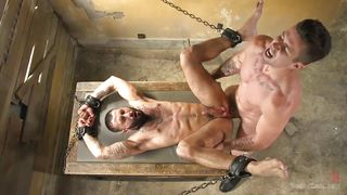 guy gets tied up and fucked by a hot stud