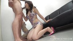 tired nippon whore getting mouth fucked