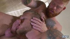 jaxon and bennet bang each other's asses in the shower