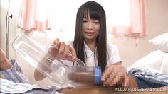 japanese nurse sucks patient's penis
