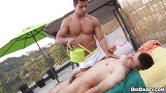 gay massage in the outdoors
