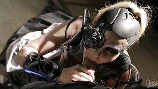 cyborg whore gives head