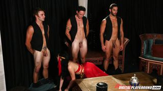 princess selects a stud to satisfy her @ the princess and the d