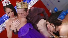 prom queen and the slut suck his cock