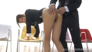 sexy legs asian cutie anal exploited