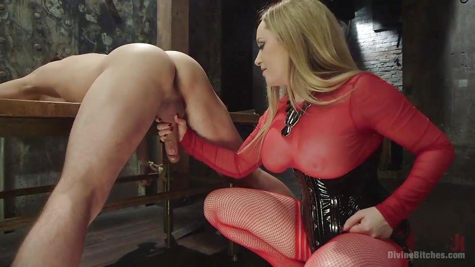 Aiden Starr Lance Hart in Mean Bitch Milks Her Slave