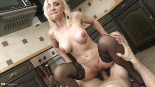 fucked by plumber in the kitchen