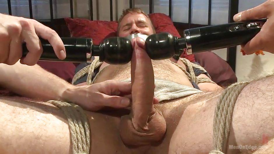 Bound cock tease