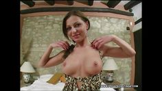 love's perky tits bounce in her casting.