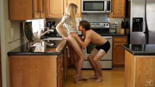 young couple get hot and dirty