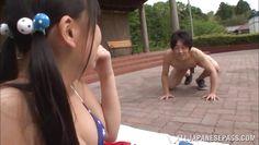 bikini clad schoolgirl gets fucked in nagoya