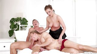 cuckold husband sucks cock @ bi-sexual cuckold #09