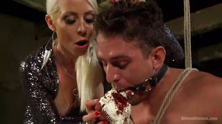 lorelei humiliates her slave with cake