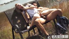 lilli dixon gets herself fucked out in the field
